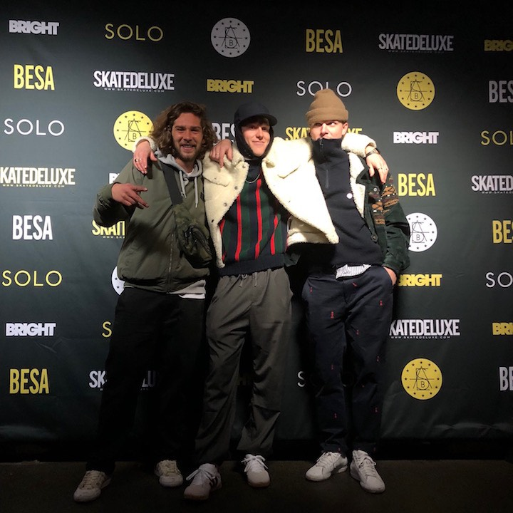 Bright European Skateboard Awards - Rogalski, Hillebrandt, Brodewick
