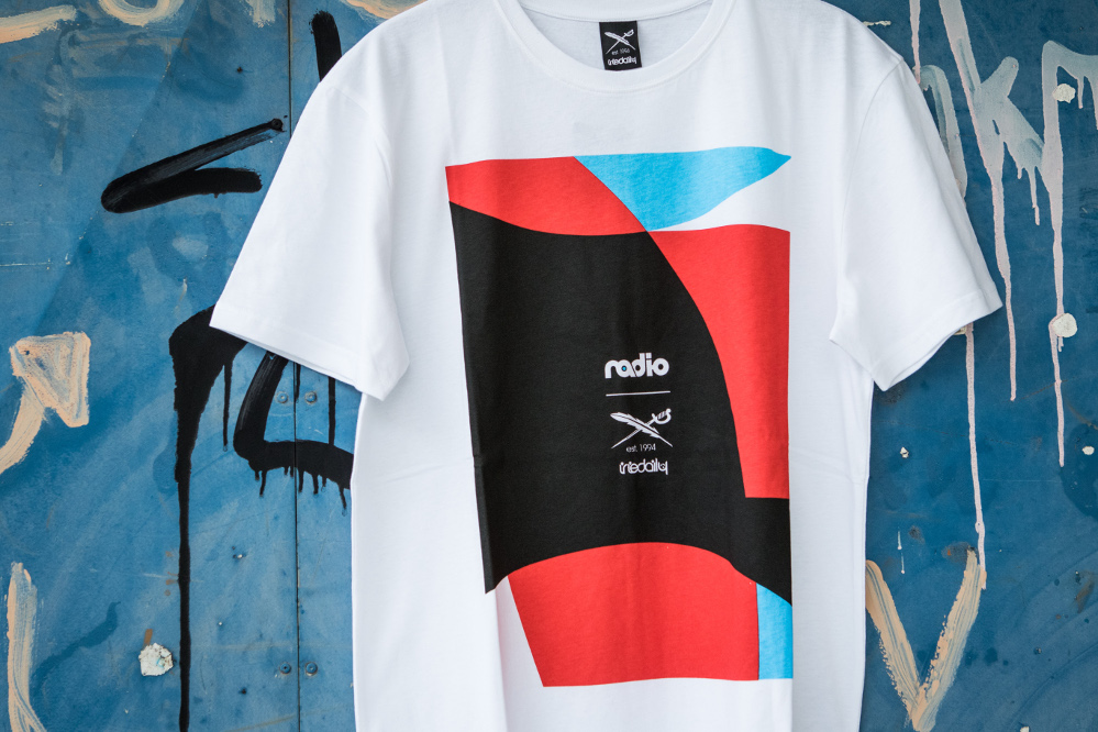 Iriedaily x Radio Skateboards collection | Bau T-Shirt | Front