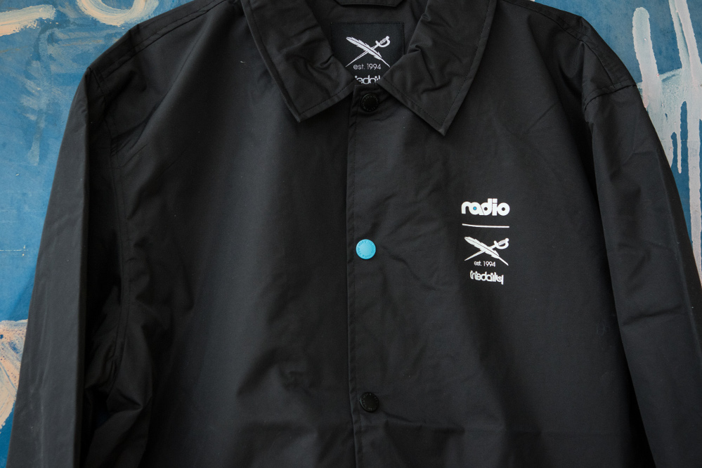 Iriedaily x Radio Skateboards collection | College Team Jacket | Front