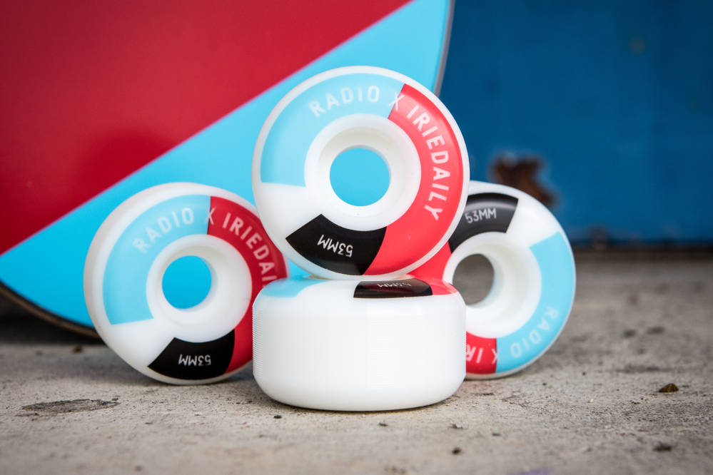 Iriedaily x Radio Skateboards collection | Wheels