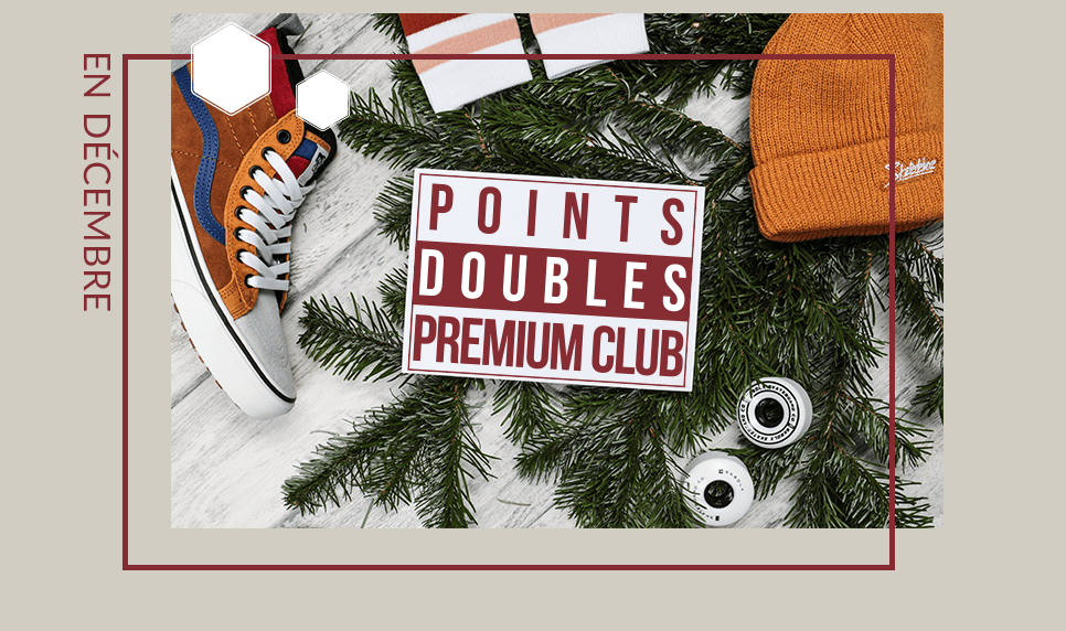 Points Doubles Premium Club en Décembre