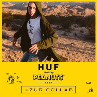 HUF x Peanuts bei skatedeluxe