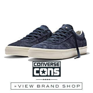 Converse Online shop at skatedeluxe