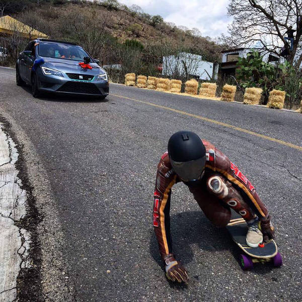 Loaded Longboards Mike Azanza Slide