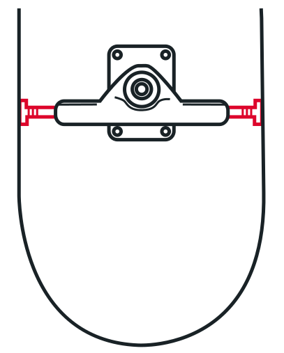 Skateboard Truck Width in Relation to the Deck