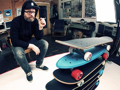 Mob Skateboards Captain Cracker