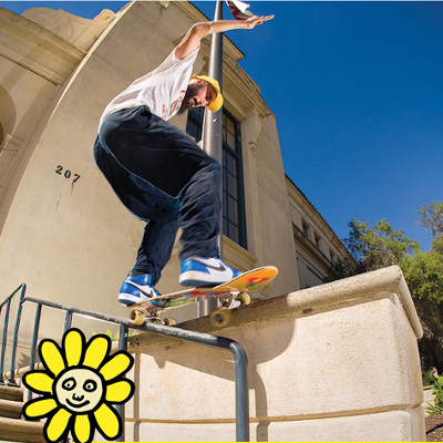 OJ Wheels Skate Team Nick Boserio 50-50
