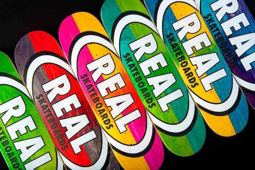 Real Skateboards Oval Decks