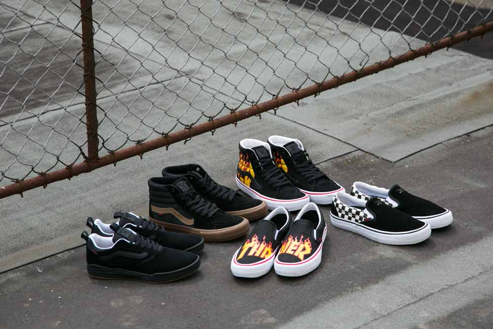 Vans x Thrasher Collab Shoes